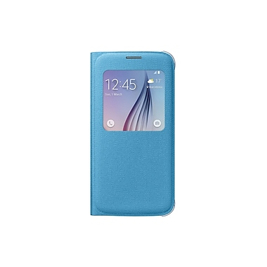 Samsung S View Cover for GS6 (Fabric), Blue/Green