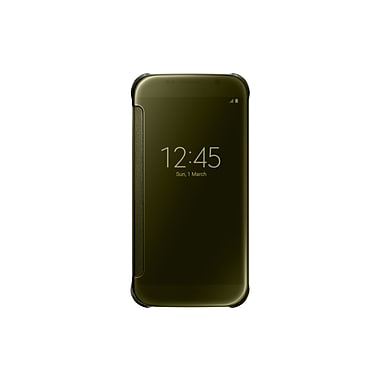 Samsung Clear View Cover for GS6, Gold