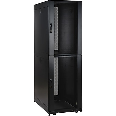 Tripp Lite SR42UBCL Rack Enclosure Server Cabinet CoLocation, 42U, 19