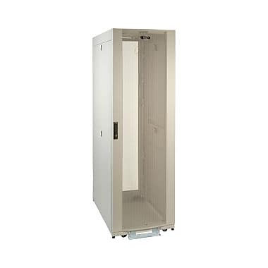 Tripp Lite 42U White SmartRack Premium Enclosure (Includes Doors and Side Panels), 19