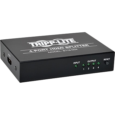 Tripp Lite HDMI Splitter, 4-Port (B118-004)