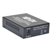 Tripp Lite 10/100 UTP to Singlemode Fiber Media Converter, 100 Mbps (N784-001-SC-15)