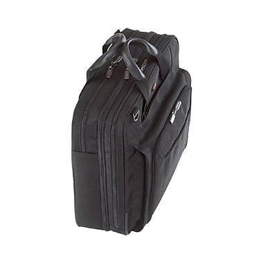 Targus Corporate Traveler Notebook Case, Ballistic Nylon, Black, (CUCT02UA14S)