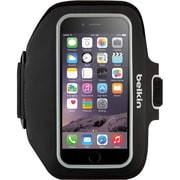 Belkin Sport-Fit Plus Armband Carrying Case for iPhone 6/6s, Blacktop/Overcast (F8W501-C00)