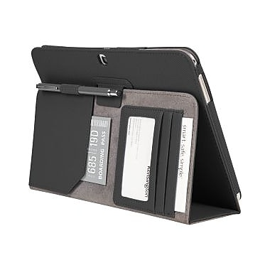 Kensington Comercio Soft Folio Case & Stand for Galaxy Tab 3, Black, (97096)