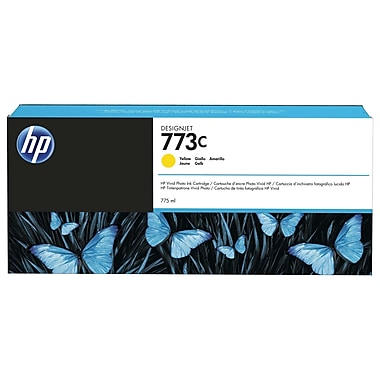 HP 764 Ink Cartridge, Inkjet, Yellow, (C1Q15A)