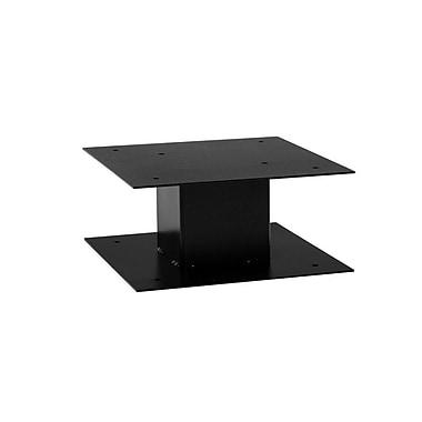 dVault 1 Ft. H Pedestal; Black