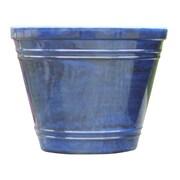 Griffith Creek Designs Fiber Clay Pot Planter; Royal Blue