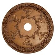 Hickory Manor House Grecian Ceiling Medallion; Bronze