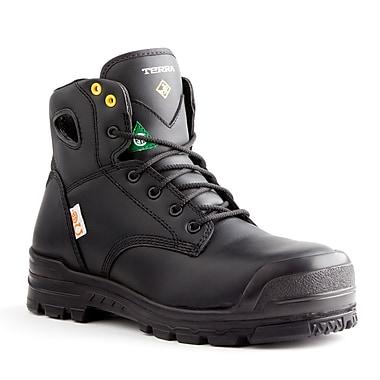 Terra – Chaussures de travail Baron pour hommes, 6 po, brun clair, taille 8