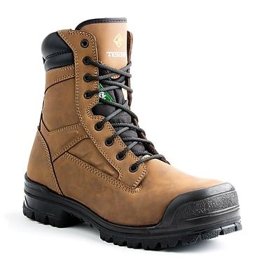 Terra – Chaussures de travail Omaha pour hommes, 8 po, havane, taille 7
