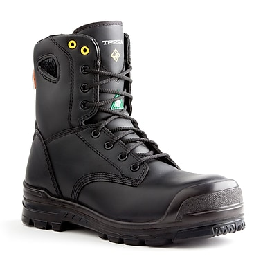 Terra – Chaussures de travail Argo pour hommes, 8 po, noir, taille 6,5