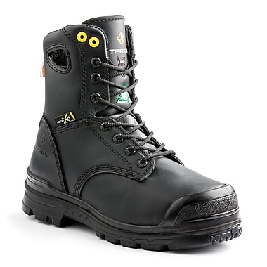 Terra Paladin Men's Specialty Work Boot, Black, Size 9.5