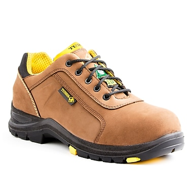 Terra Carter (SD) Men's Casual Safety Shoe, Brown, Size 3.5