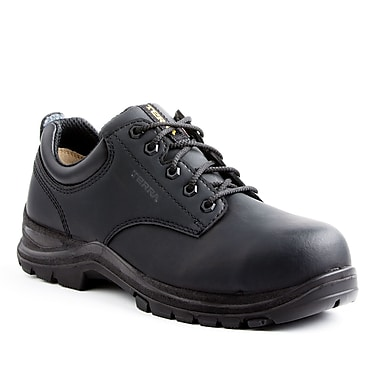 Terra Bartlett Men's Casual Safety Shoe, Black, Size 4