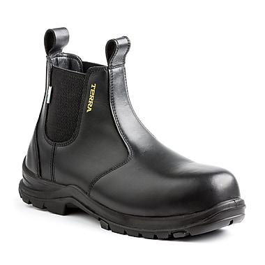 Terra – Chaussures de travail Murphy pour hommes, 6 po, noir, taille 4