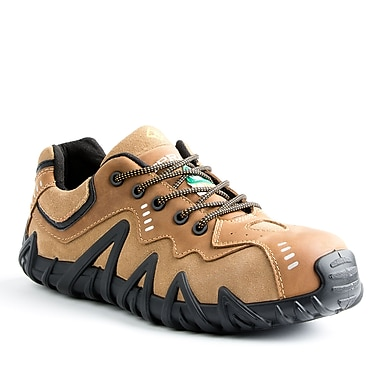 Terra Spider Men's Athletic Safety Shoe, Tan, Size 8.5