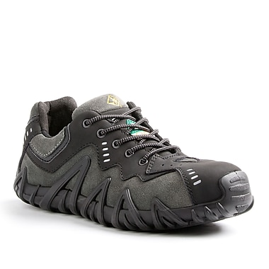 Terra Spider Men's Athletic Safety Shoe, Charcoal, Size 5