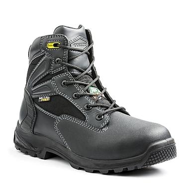 Terra – Chaussures de travail Cormac pour hommes, 6 po, noir, taille 14