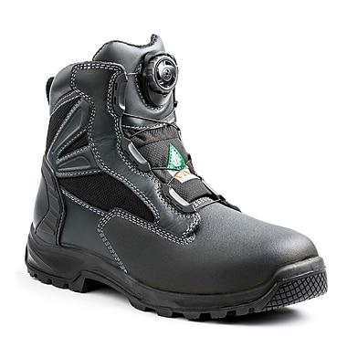Terra – Chaussures de travail Cormac BOA pour hommes, 6 po, noir, taille 8