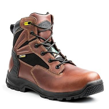 Terra – Chaussures de travail Cormac pour hommes, 6 po, brun, taille 10,5