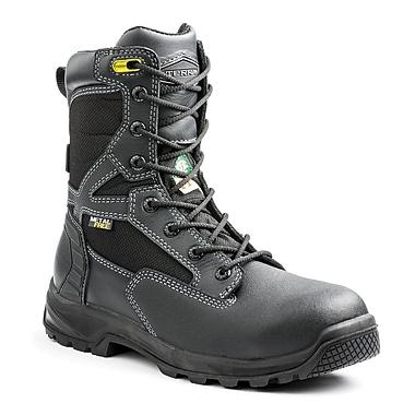 Terra – Chaussures de travail Rexton pour hommes, 8 po, noir, taille 7