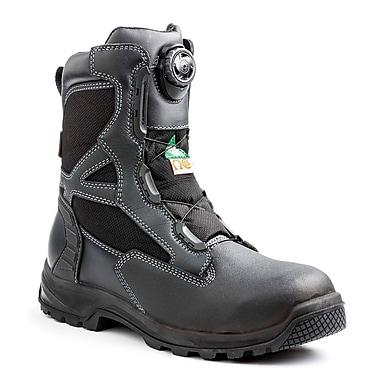 Terra – Chaussures de travail Rexton BOA pour hommes, 8 po, noir, taille 8,5
