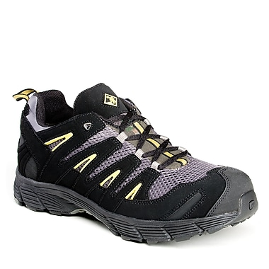 Terra Panama Men's Athletic Safety Shoe, Black, Size 10