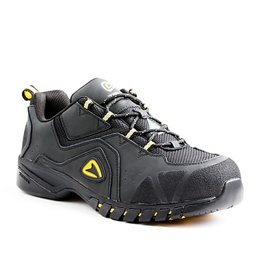 Terra Rubicon Men's Athletic Safety Shoe, Black, Size 10.5