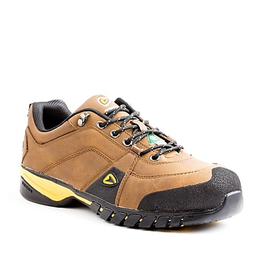 Terra Riverton Men's Athletic Safety Shoe, Brown, Size 12