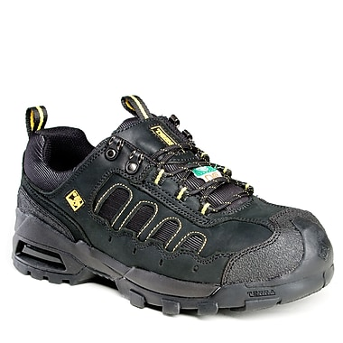 Terra Arrow Men's Athletic Safety Shoe, Black, Size 7