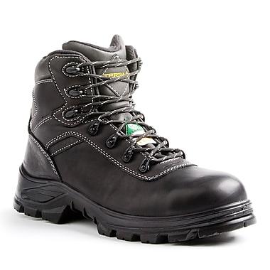Terra – Chaussures de travail Quinton pour hommes, 6 po, noir, taille 10
