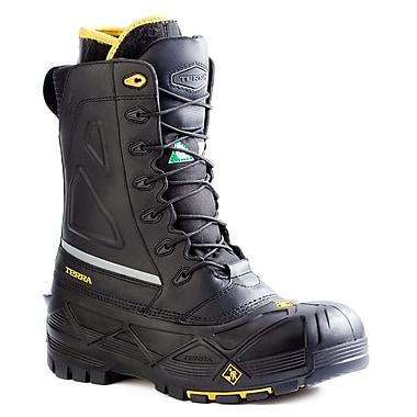 Terra Crossbow Men's Specialty Work Boot, Black, Size 10