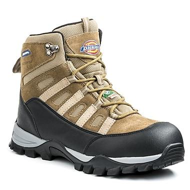 Dickies® Escape Men's Safety Hiker, Brown, Size 9.5