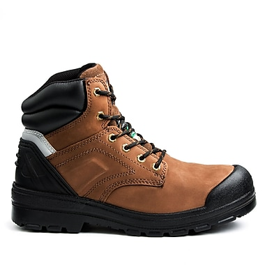 DickiesMD – Chaussures de travail Overtime pour hommes, 6 po, brun clair, taille 8,5
