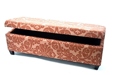 Warehouse of Tiffany Bolbolac Upholstered Storage Bench;