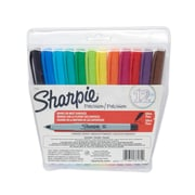 Sharpie® Ultra Fine Point Permanent Markers, Assorted, 12/pk (37172)