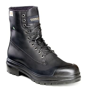 Terra – Chaussures de travail Replay II pour hommes, 8 po, noir, taille 14
