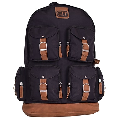 Offtrack Backpack, 6 Pockets, Black