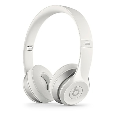 Beats Solo2 On-Ear Headphones, White