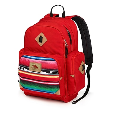 High Sierra Warren Backpack, Crimson/Serape/Black