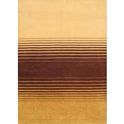 "Torabi Rugs Gabbeh Rug, Brown/Red, 5'7"" x 8'0"""
