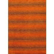 "Torabi Rugs Gabbeh Rug, Orange, 5'7"" x 7'10"""