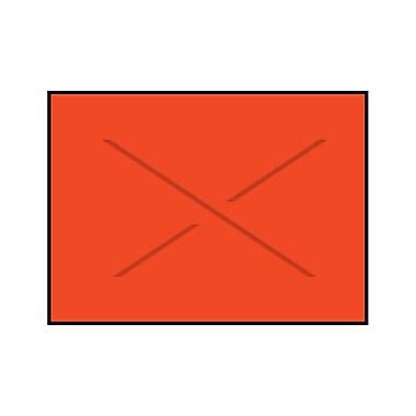 Garvey® Blank Label, Fluorescent Red, 12 mm x 18 mm, 14000 Labels/Sleeve (GX1812)