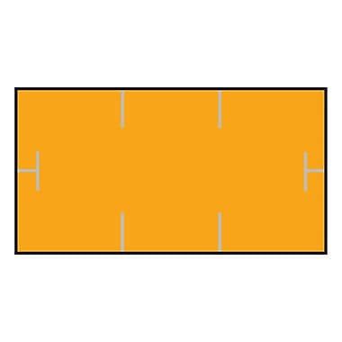 Garvey® 10 mm x 19 mm Blank Label, Orange, 17000 Labels/Sleeve (GS1910)