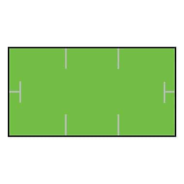 Garvey® 10 mm x 19 mm Blank Label, Green, 17000 Labels/Sleeve (GS1910)