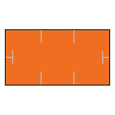 Garvey® Blank Label, Red, 10mm x 19mm, 17,000 Labels/Sleeve (1910-85050)