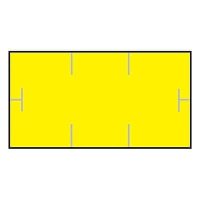 Garvey® 10 mm x 19 mm Blank Label, Yellow, 17000 Labels/Sleeve (GS1910)