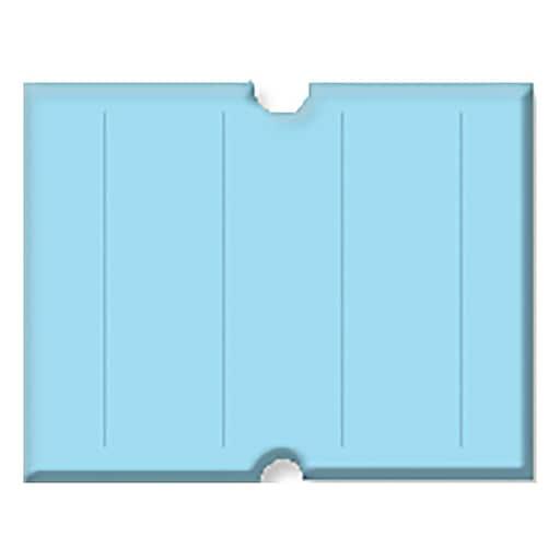 Garvey® Punch Hole Blank Label, Blue, 17 mm x 21 mm, 6000 Labels/Sleeve (G2117 )