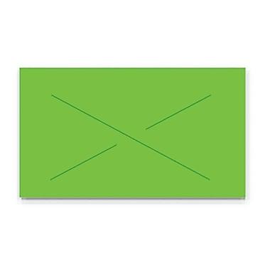 Garvey® Blank Label, Fluorescent Green, 12 mm x 22 mm, 11,000 Labels/Sleeve (GX2212)